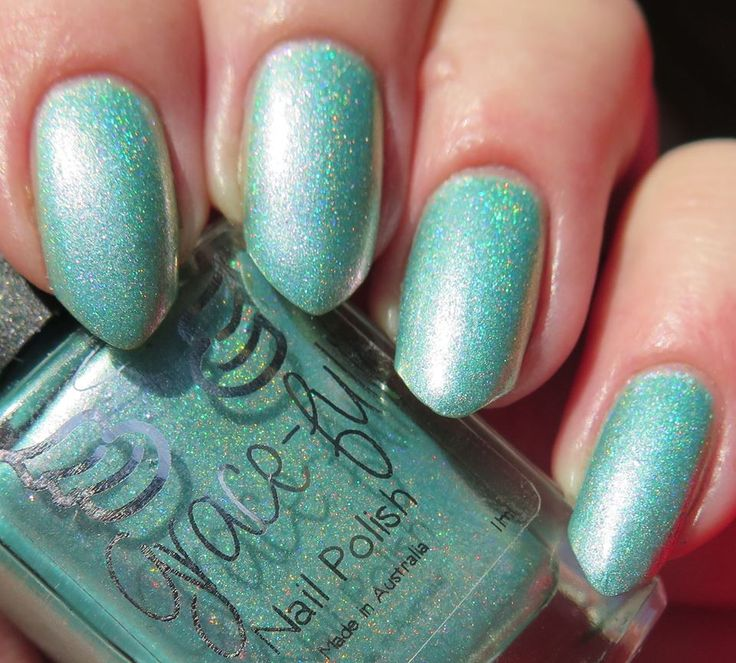 Gracefull Polish - Spring Fling - holo (store exclusive at rainbow-connection.co.uk)