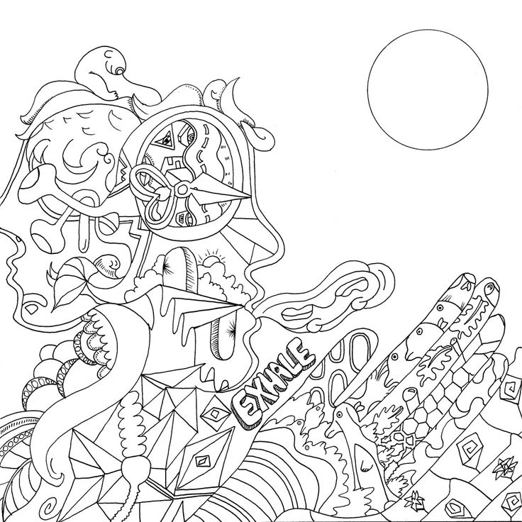 8 best images about stoner 39 s coloring book on pinterest for Printable stoner coloring pages