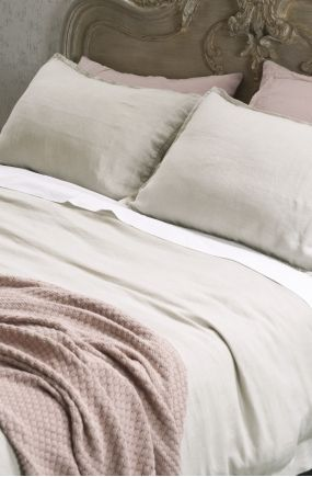 fabia linen duvet cover set