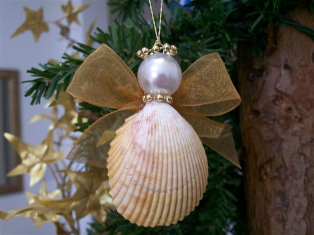 22 best images about bible school crafts on pinterest no for Seashell ornament ideas