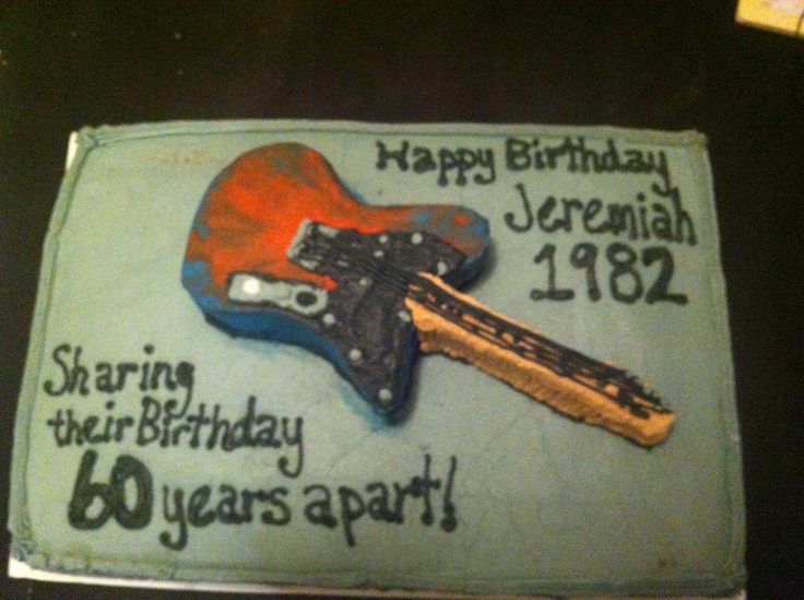Birthday Cake Guitars