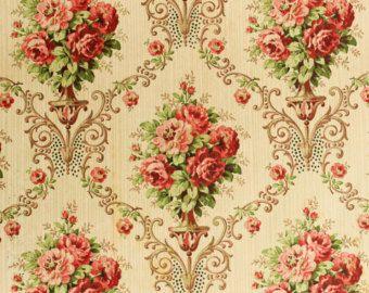 Vintage wallpapers, Wallpaper samples and Floral patterns