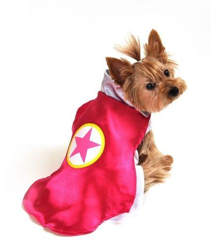 Dog Costume - Superhero Pink Cape