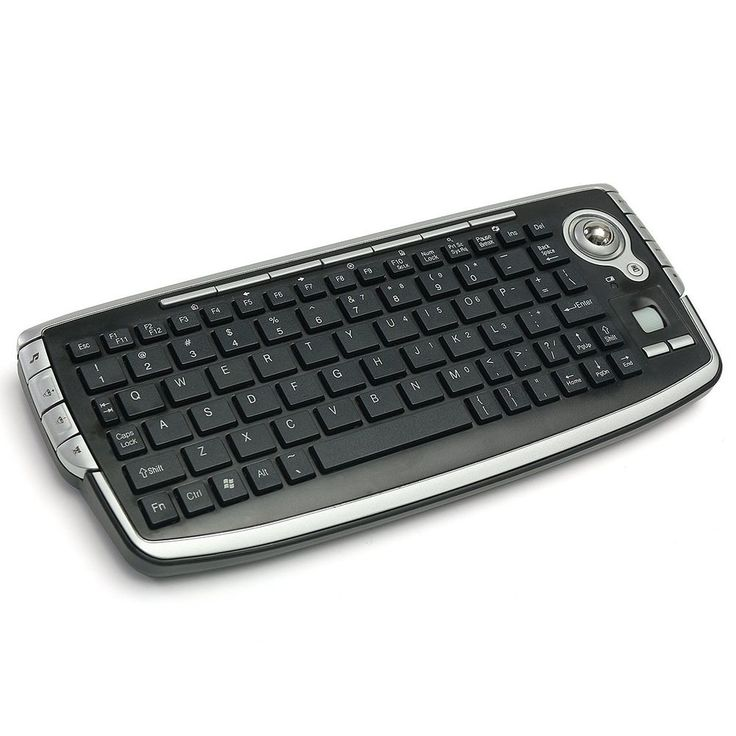 Mini 2.4GHz Wireless Media Centre Keyboard With Trackball Mouse For PC PS4 Smart #keyboards #wirelessmesia #wireless #ps4stuff #ps4keyboard #ps4life #ps4parts  | eBay