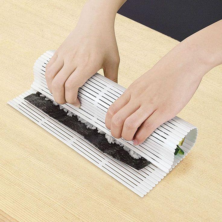 Plastic Sushi Rolling Mats Bento Seaweed Sushi Maker Rice Mold Diy Sushi Roller