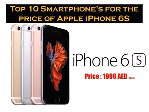 Here is the list of Top 10 #smartphones that can be brought for the #price of #Apple #iphone6s