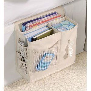 bedside caddy - need to get this for my kids for camp