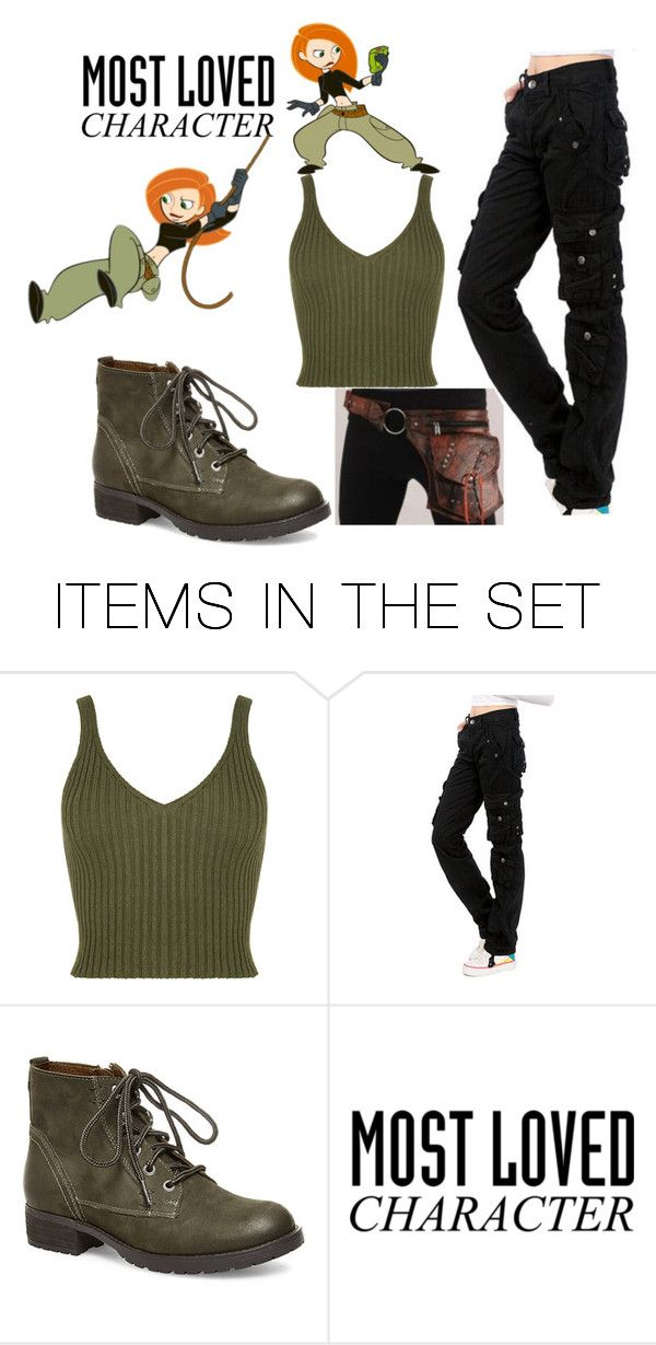 """""""Kim Possible!"""" by helena-van-zelst ❤ liked on Polyvore featuring art"""