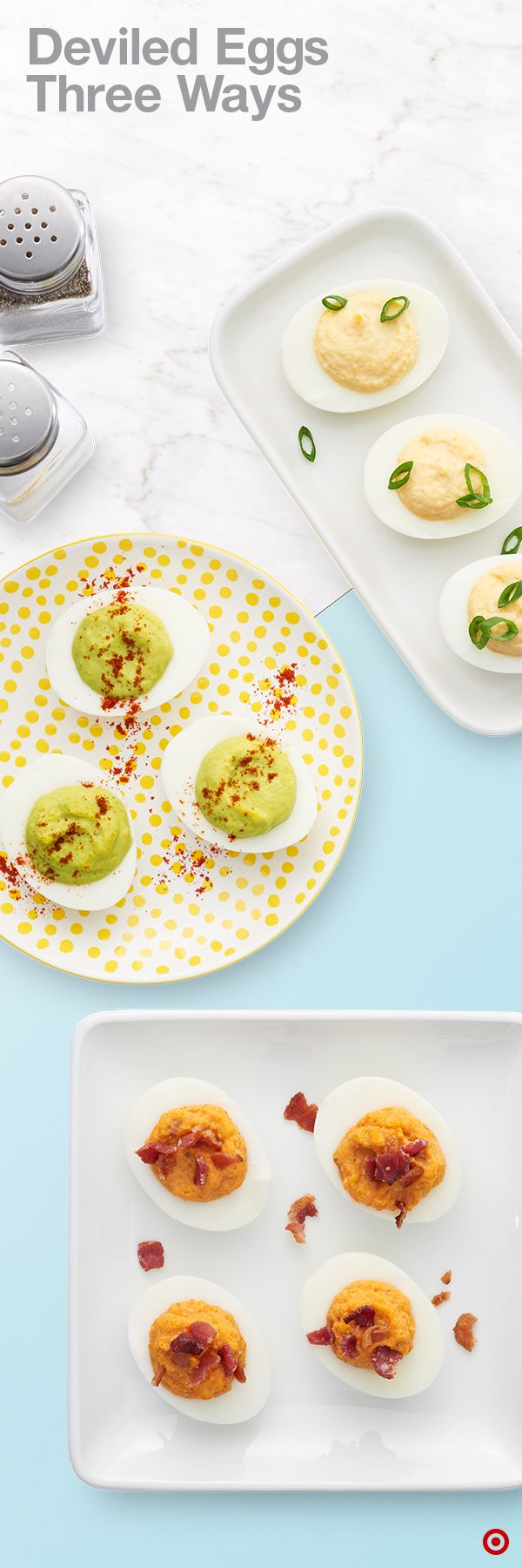 Try one of these three new and easy ways to prepare Deviled Eggs for ...