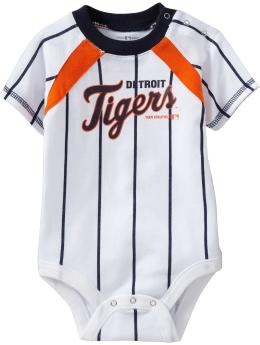 Detroit Tigers onesie. So cute; my future child WILL have this <3