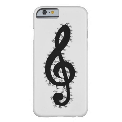 Electric Treble Clef iPhone 6 Case