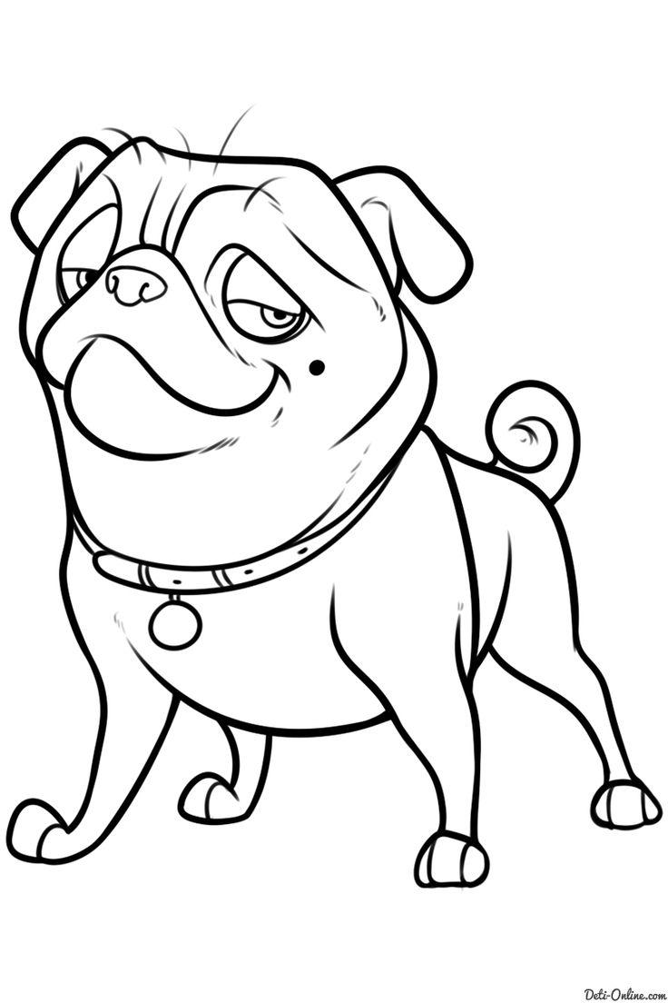 Картинки смешных собак для срисовки, валентинки открытки картинка