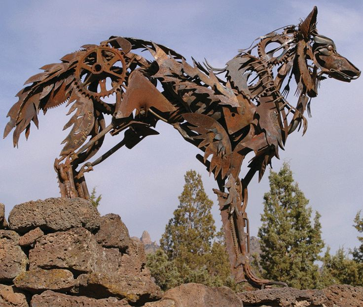 Très 222 best Metal Sculptures images on Pinterest | Metal sculptures  AK57