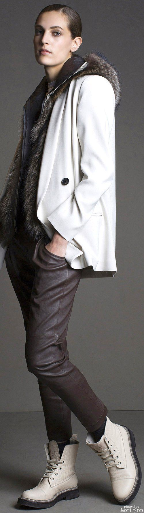 Brunello Cucinelli Fall 2015 RTW