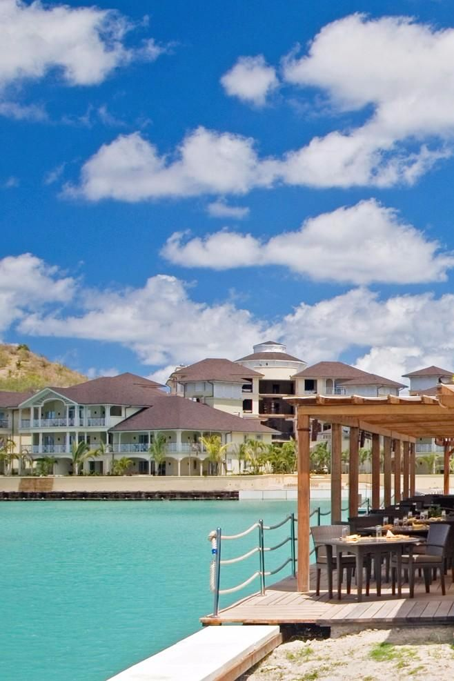 For a laid-back dining option, head to the alfresco harborfront restaurant. The Landings St. Lucia - All Suite Resort (Gros Islet, St. Lucia) - Jetsetter