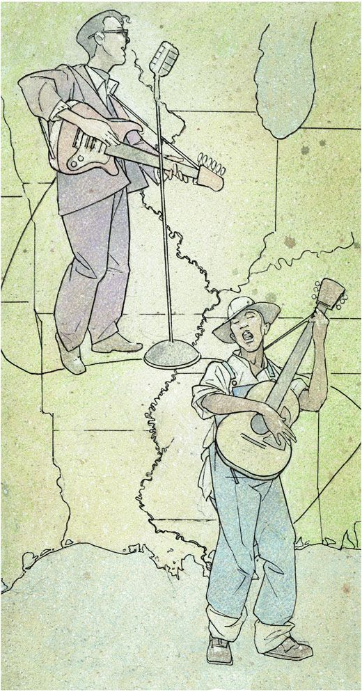 """David Johnson """"The """"Great Migration"""" from the South to the '""""The Promise Land"""" of Chicago brought more African Americans here from Mississippi than any other state...With the migrants came the Delta blues that was the foundation of the classic postwar Chicago blues style.""""                            -Mississippi Blues Commission"""