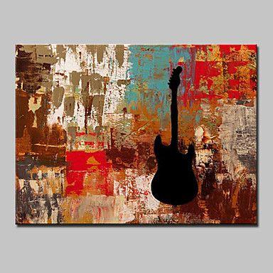 【今だけ☆送料無料】 アートパネル  抽象画1枚で1セット エレキ ギター ブラック 錆び塗装 プレゼント 【納期】お取り寄せ2~3週間前後で発送予定