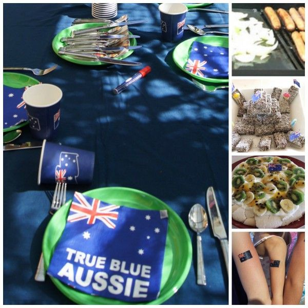 Australia day food and party ideas | Mouths of Mums
