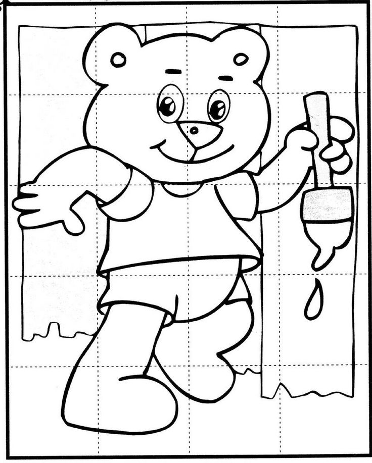 boz the bear coloring pages | 17 Best images about Kirakók - Puzzles on Pinterest ...