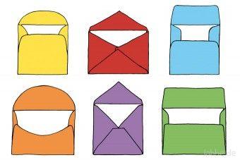 PDF: Vorlage für Briefumschläge / Templates for envelopes