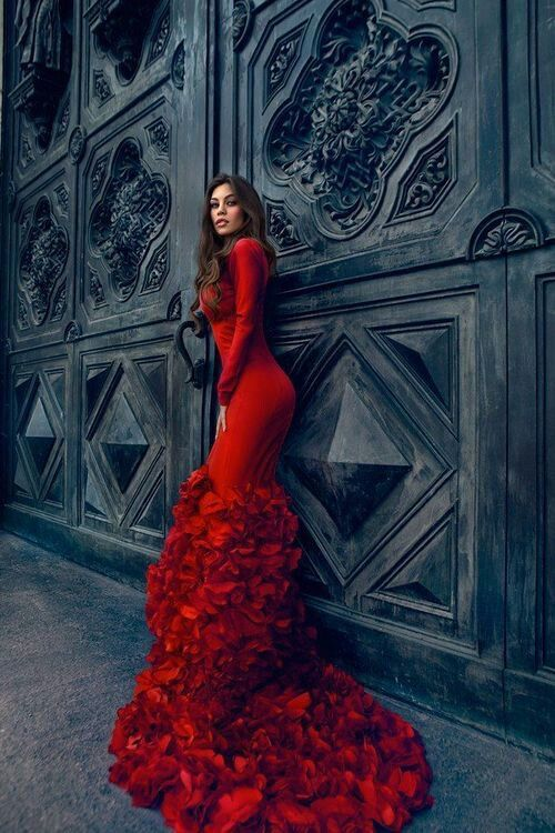 Red Dress Backyard Dreams Pinterest Dresses And Red