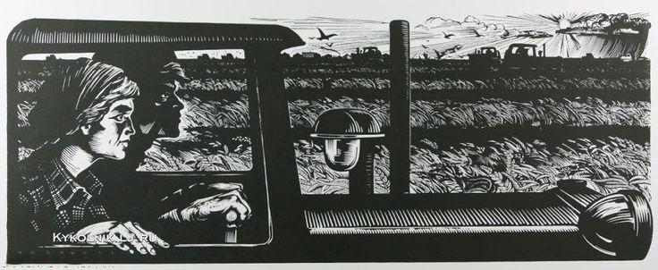 Дмитриев Дмитрий Павлович «Сельское хозяйство» 1957