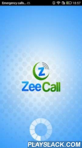 Zeecall  Android App - playslack.com ,  ZeeCall is the Mobile Dialer that allows to make VoIP calls from any of the android devices and it uses 3G/Edge/Wi-Fi Internet connectivity. It is developed based on the requirements of VoIP Providers business needs.ZeeCall Features:-It uses SIP protocol based for signalingSupports G729, PCMU, and PCMA codecsRuns behind NAT or Private IPUser Friendly InterfaceAuto Sync of BalanceReal Time Sip status messagesCall HistoryAddress book…