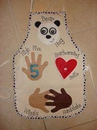 Becky Bailey Classroom Rules | Conscious Discipline greeting apron