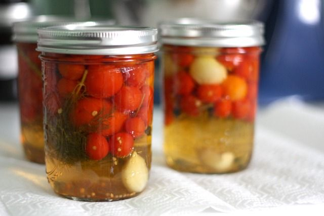 You Can Pickle That: Cherry Tomatoes