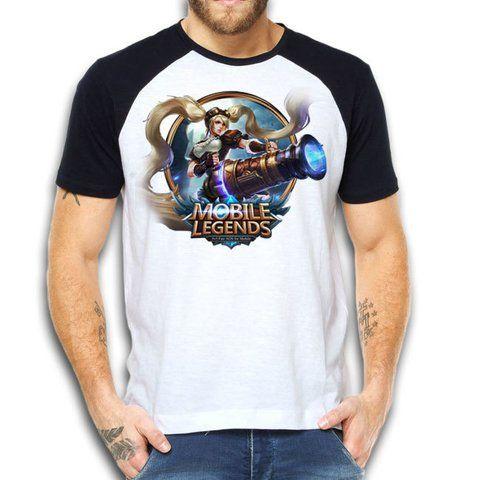 9c6324bc6cc46 CAMISETA LAYLA MOBILE LEGENDS REF 001 - Camisetas Games