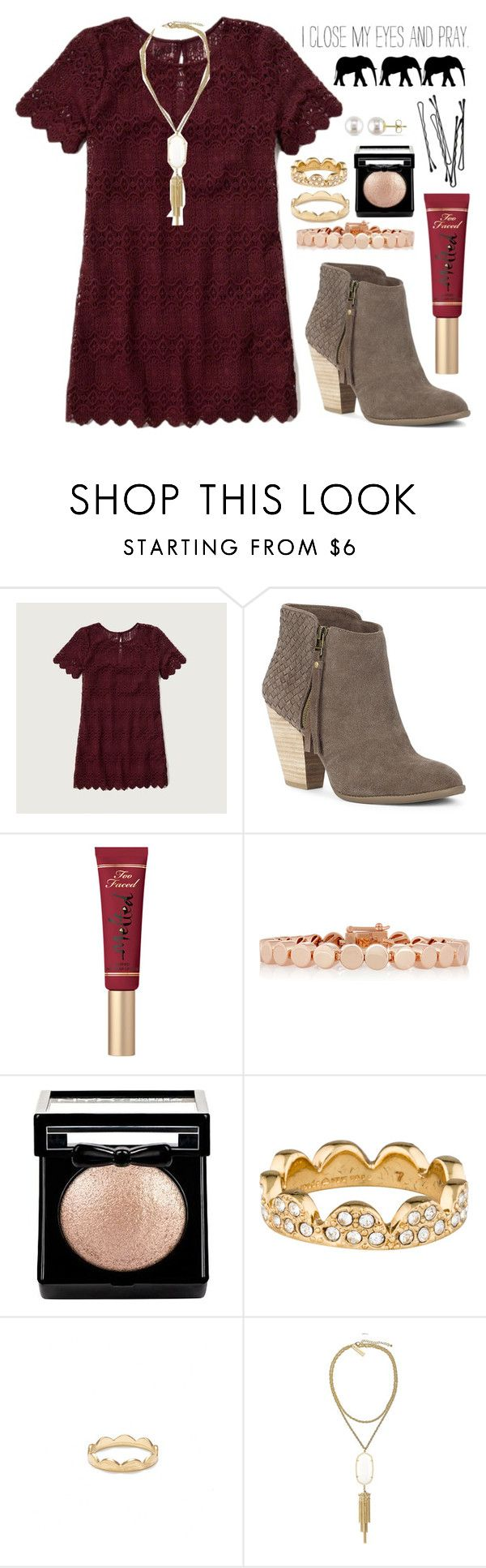 """❄️"" by ansleighrose023 ❤ liked on Polyvore featuring Abercrombie & Fitch, Sole Society, Eddie Borgo, Kate Spade, Jeweliq, Kendra Scott, BOBBY, Miadora and Justin Bieber"