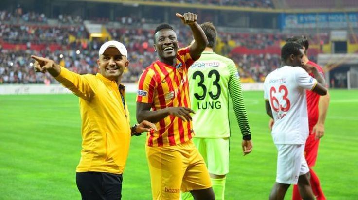 """Asamoah Gyan'dan Galatasaray açıklaması  """"Asamoah Gyan'dan Galatasaray açıklaması"""" http://fmedya.com/asamoah-gyandan-galatasaray-aciklamasi-h60577.html"""