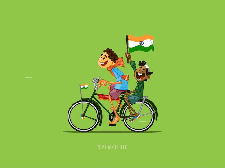How is it? Something me and my friend did for Indian Independence day. Inspired by our childhood memory, just going to school to get chocolate with our new flags.  check out the process on https://...