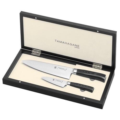 Tamahagane 2 Piece Chef's Knife Set