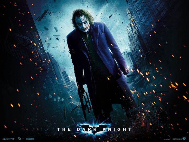 #001 Poster The Dark Knight