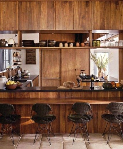 "WOOD DESIGN BLOG || Kitchen Cabinets || ""Latest finds and classic kitchen…"