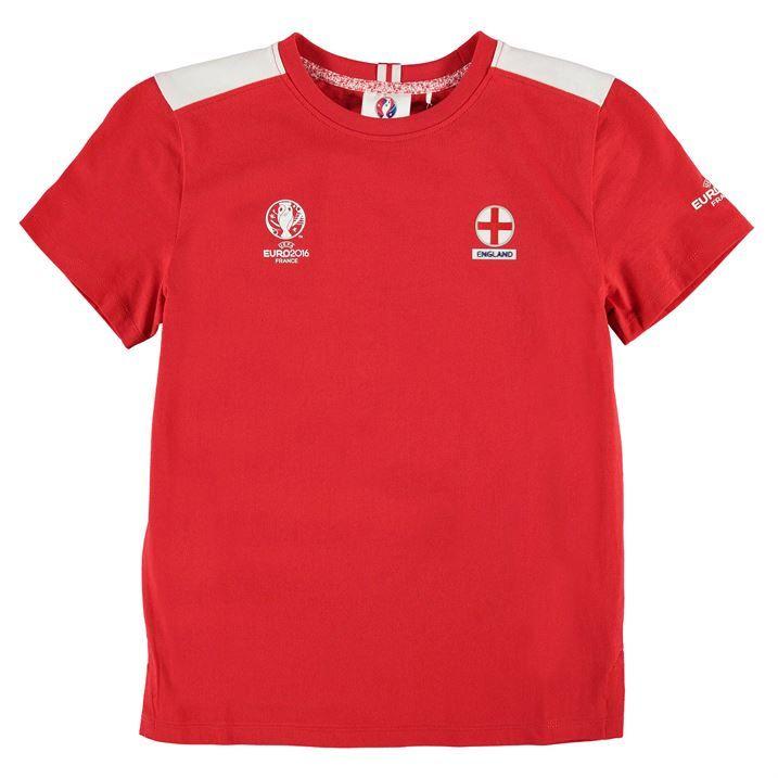England UEFA Euro 2016 Core T-Shirt (Red) - Kids #sports #sportsshopping #sportswear