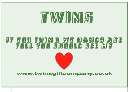 Twin quotes brought to you by www.twinsgiftcompany.co.uk