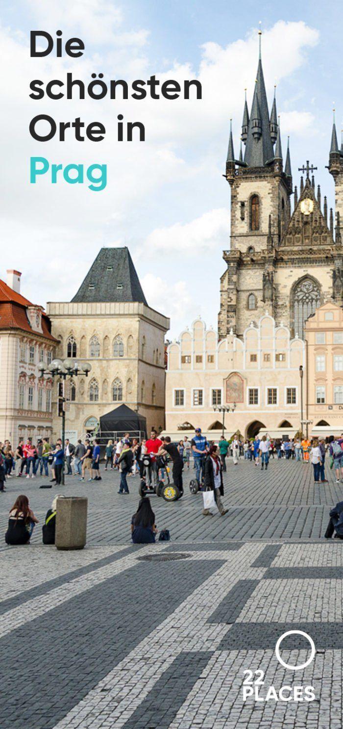 Die schönsten Sehenswürdigkeiten in Prag