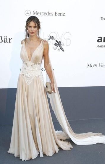 Zuhair Murad's Dress Alessandra Ambrosio