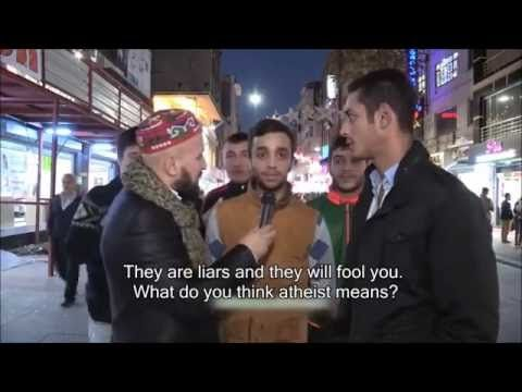 Interview With Turkish People About Atheists - VIDEO - http://holesinthefoam.us/interview-with-turkish-people-about-atheists/