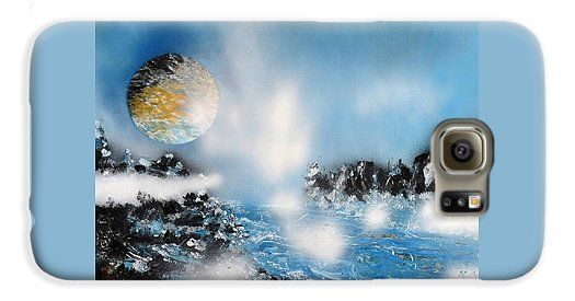 Light Rain Galaxy S6 Case Printed with Fine Art spray painting image Light Rain by Nandor Molnar (When you visit the Shop, change the orientation, background color and image size as you wish)