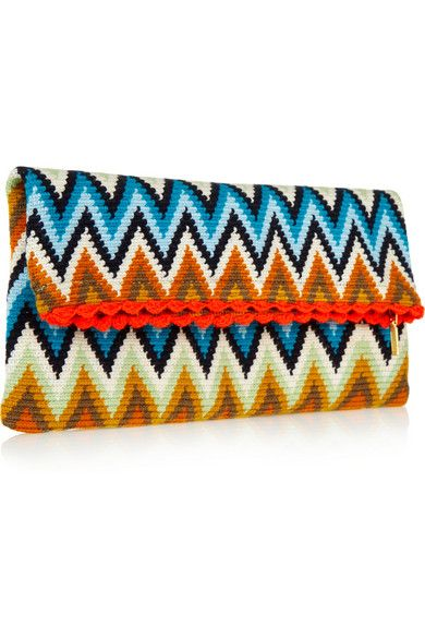 Sophie Anderson Lia crocheted cotton pouch €274