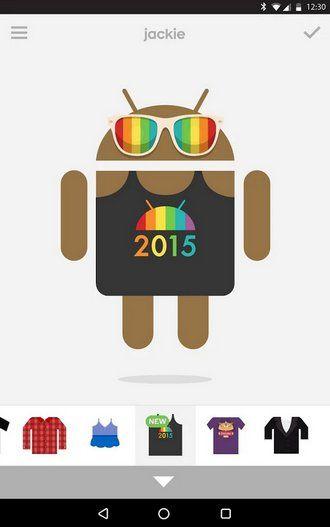 ONE: Google celebra el día del Orgullo LGBT con nueva y colorida ropa para Androidify Your Best Friend, Best Friends, Google, App, Logos, Android, Colorful, Products, Tecnologia