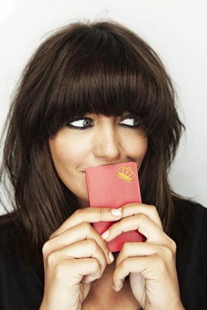 Claudia Winkleman  has the best hair!.....the perfect bob and fringe & works with my thick hair perfectly (...with additional help from my GHDs!)