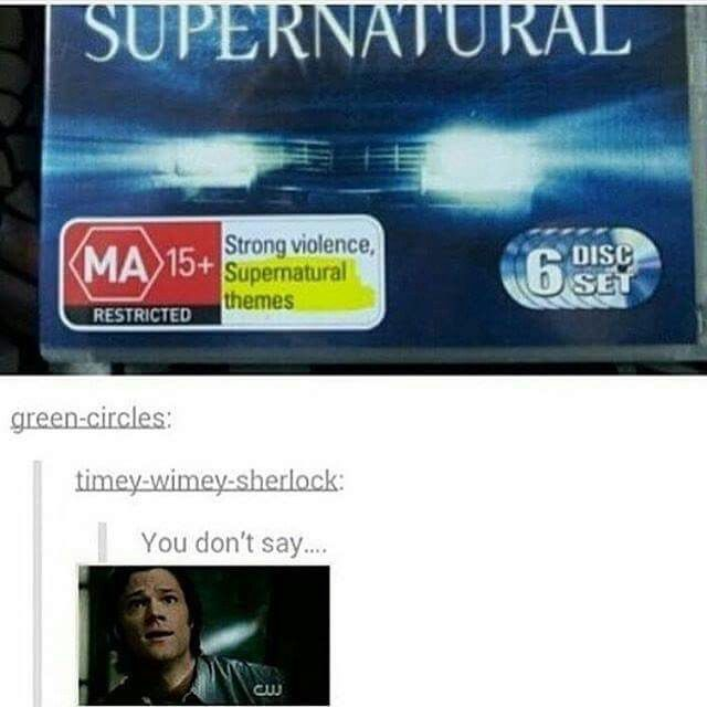 supernatural theme popular - photo #22