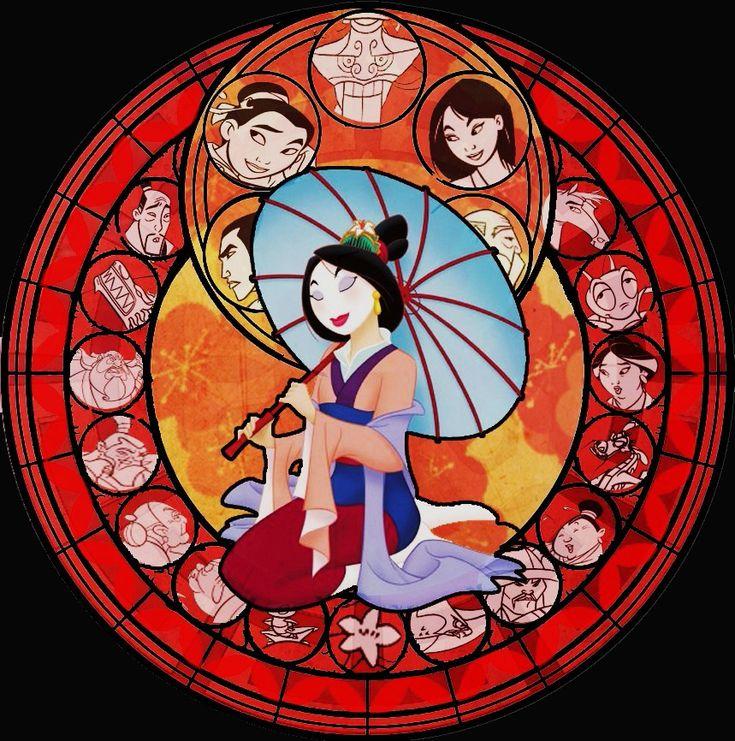 Google Image Result for http://images5.fanpop.com/image/photos/31300000/Mulan-Stained-Glass-disney-princess-31394739-859-866.jpg