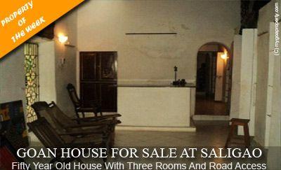 #goa #property #house #saligao #india