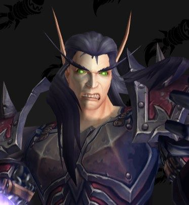 """Possible"" Warlock animation on Blood Elf gives them a .....menacing face. #worldofwarcraft #blizzard #Hearthstone #wow #Warcraft #BlizzardCS #gaming"