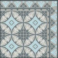 Tapis Vinyle -  Barcelona Light Blue Gray  - Beija Flor